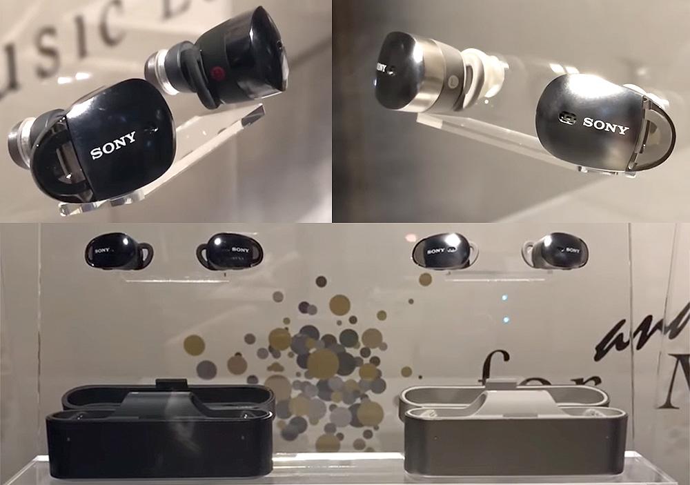ソニーがCES 2017で左右独立ワイヤレスイヤホンを展示!