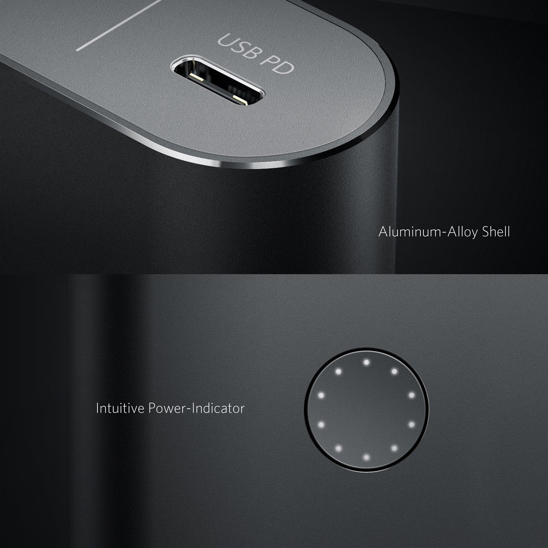 Ankerが26,800mAhを搭載したバッテリーを発売!PD対応でMacBookやSwitchを充電できる!