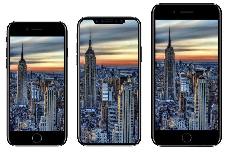iPhone 8の画面サイズは「5.15インチ」で解像度は「2,436×1,125」に!
