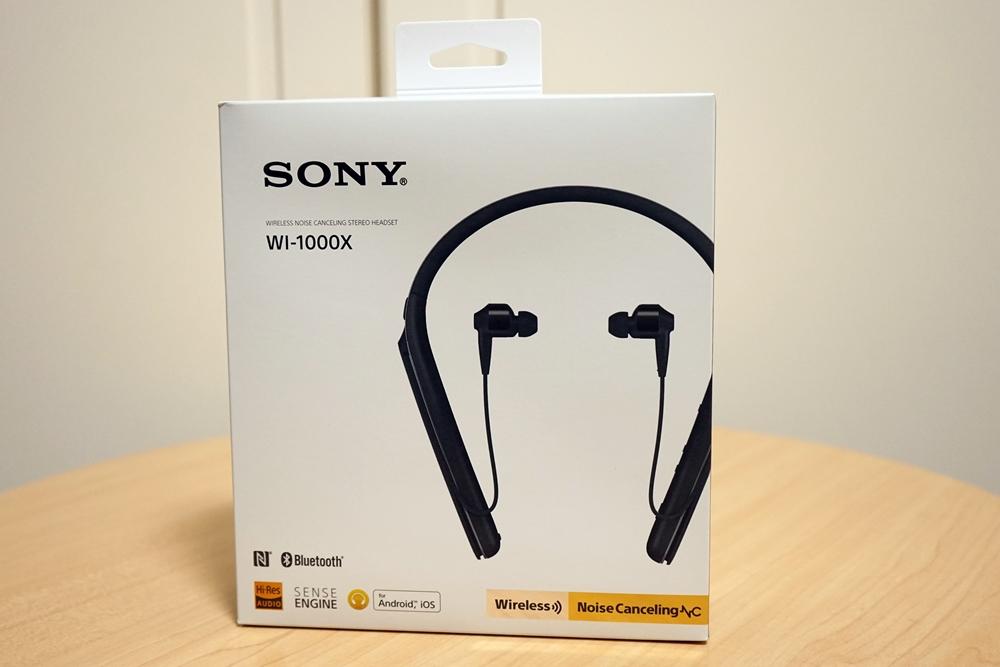 【レビュー】WI-1000X(ワイヤレスノイズキャンセリングイヤホン)を買ってみた!