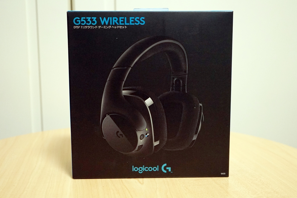 Logicool G533 ワイヤレス レビュー!7.1chサラウンドが1万円前半で買える!