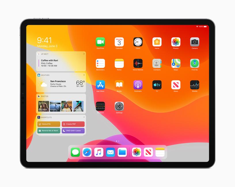 iPad OSでは遂にマウスが解禁!多くの機能が追加!